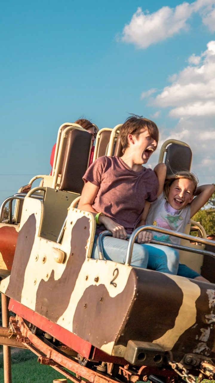YesterLand Farm = Farm Fun + Vintage Rides = Fall Happiness